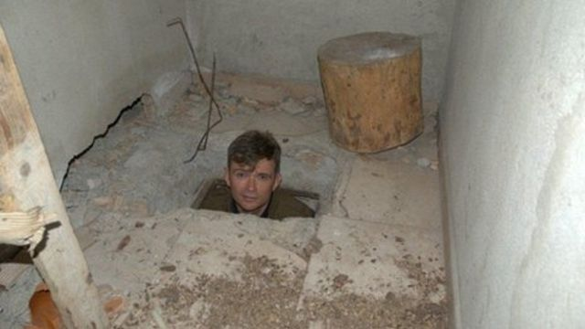 John Dickie goes underground