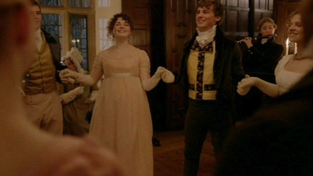 A recreation of the Netherfield ball from Pride and Prejudice