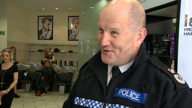 Chief Constable Mike Barton