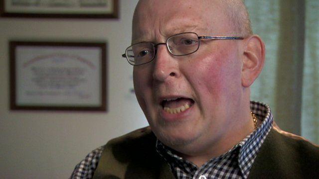 Cancer patient Steve Evans