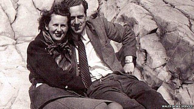Katie Walker and Brian Thomas