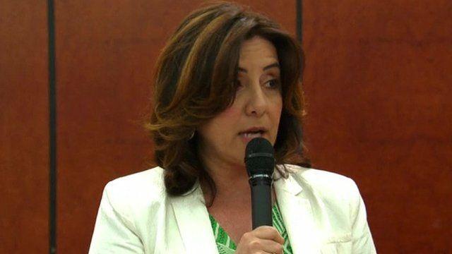 Raffaella Rossiello, a Chopard spokeswoman