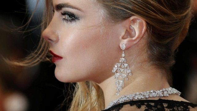 Cara Delevingne at red carpet premiere in Cannes