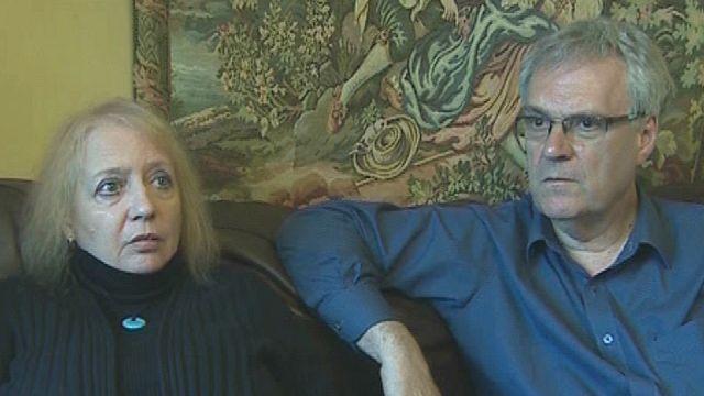 Joyce and Peter Baker