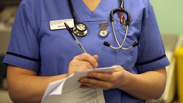A Staff Nurse