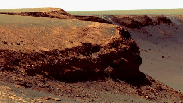 Victoria Crater on Mars