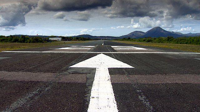 Runway on the Isle of Skye