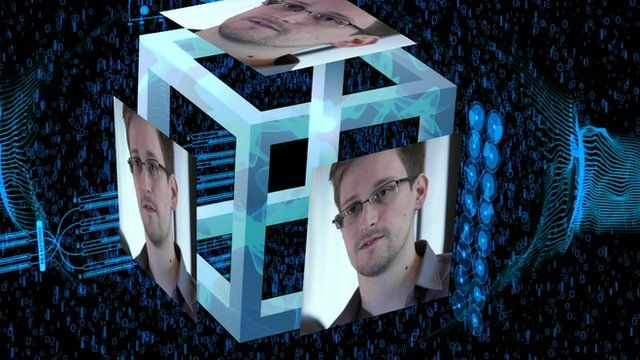 Edward Snowden graphic
