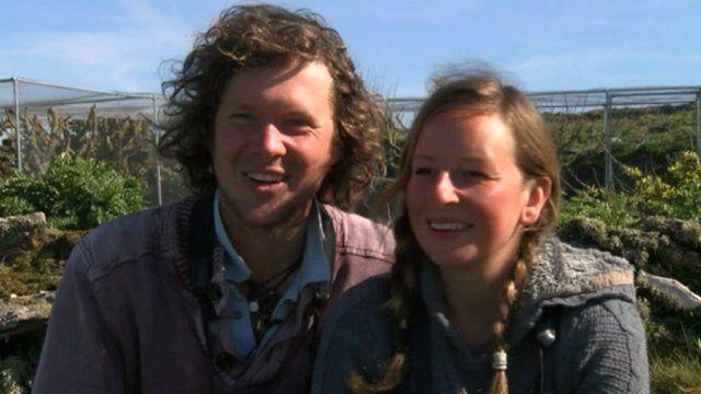 Richard Brown and Giselle Eagle
