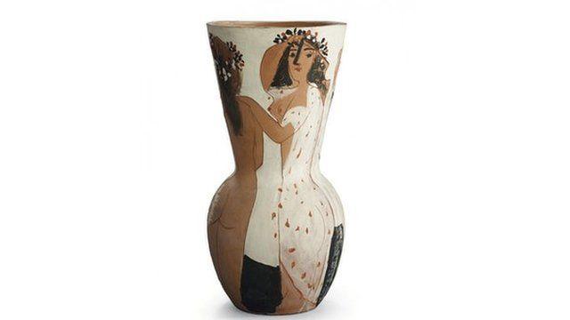 Picasso ceramic vase Grand vase aux femmes voiles, 1950