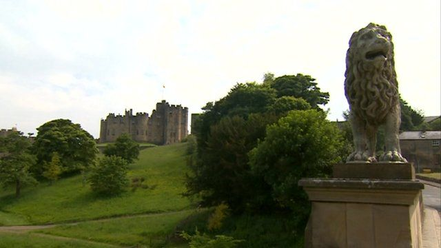 Alnwick Castle, setting for the wedding of Lady Melissa Percy