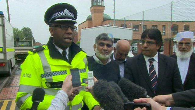 Police news conference