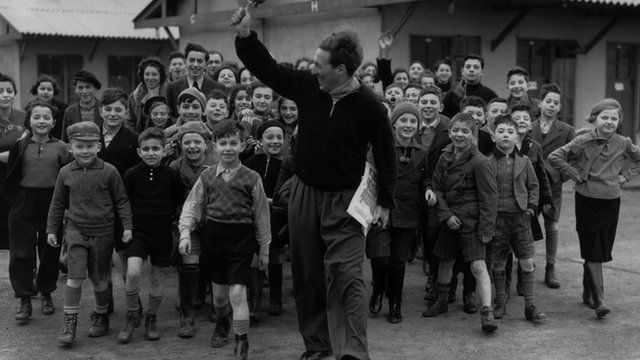 Jewish Kindertransport Refugees from Germany and Austria
