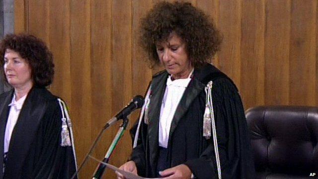 Chief judge Giulia Turri
