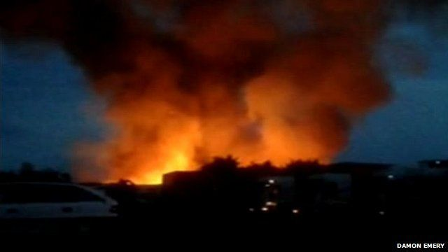 Blaze at Quality Nut Products in Weedon