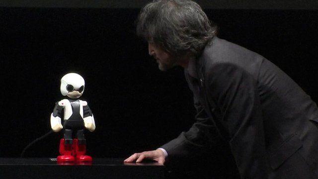 Kirobo, a Japanese ''robot astronaut''