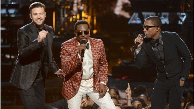 Justin Timberlake, Charlie Wilson and Pharrell
