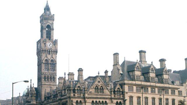 Bradford in West Yorkshire