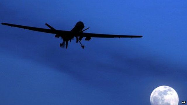 An unmanned US Predator drone (January 2010)