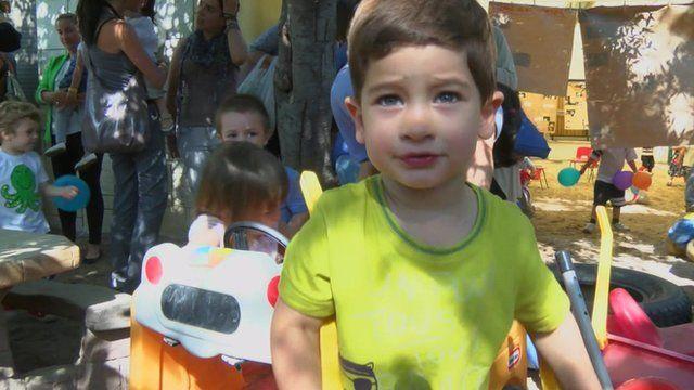 Children in Spain