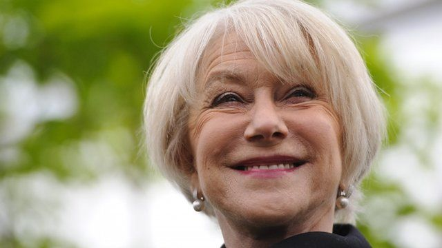 Helen Mirren attends the Chelsea Flower Show press and VIP preview day at Royal Hospital Chelsea on May 20, 2013