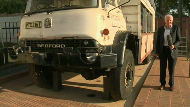Bedford truck that transported ANC weapons