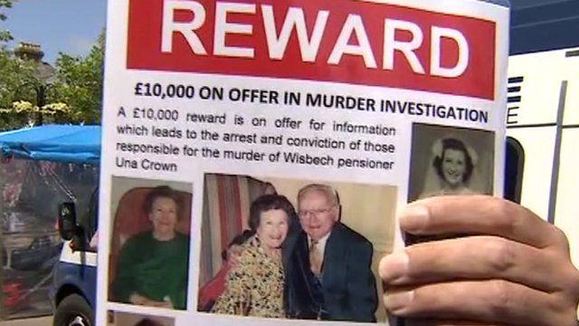 Una Crown reward poster