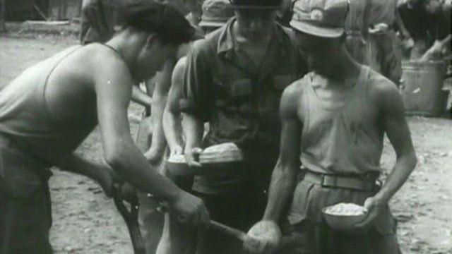 Korean War prisoners