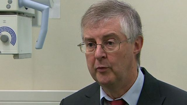 'We try and do too many things in too many places' says health minister Mark Drakeford