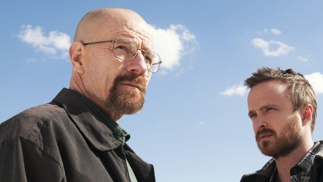 Bryan Cranston and Walter White in Breaking Bad