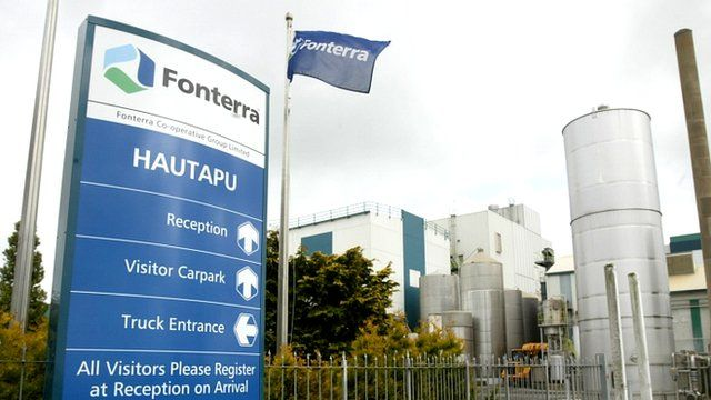 Fonterra's Hautapu dairy factory in the Waikato, New Zealand