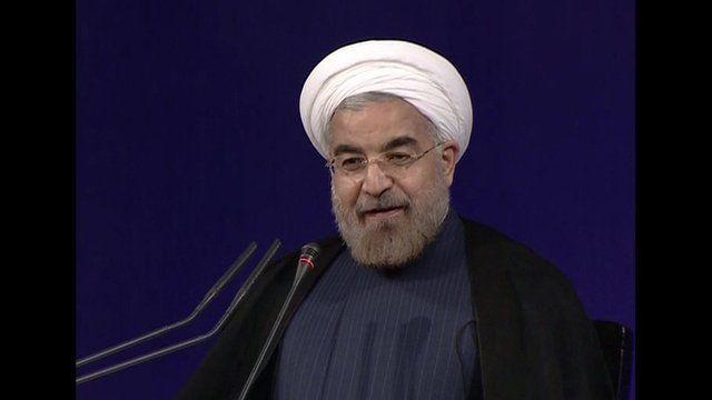 Iran's President Hassan Rouhani