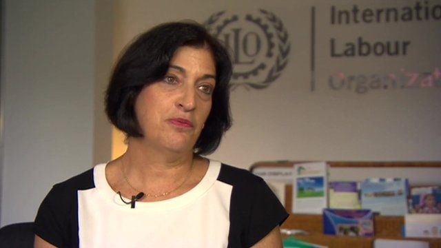Jill Tucker from the International Labour Organisation says more unions are forming allowing garment factory workers voice their concerns