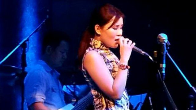 Chinese 'The Voice' contestant Jiang Chung