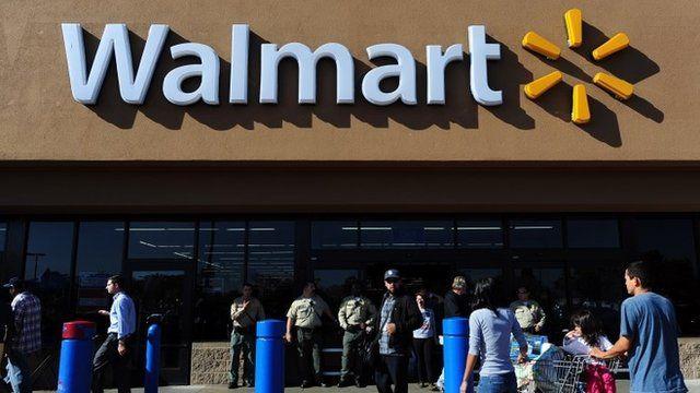 A Walmart store