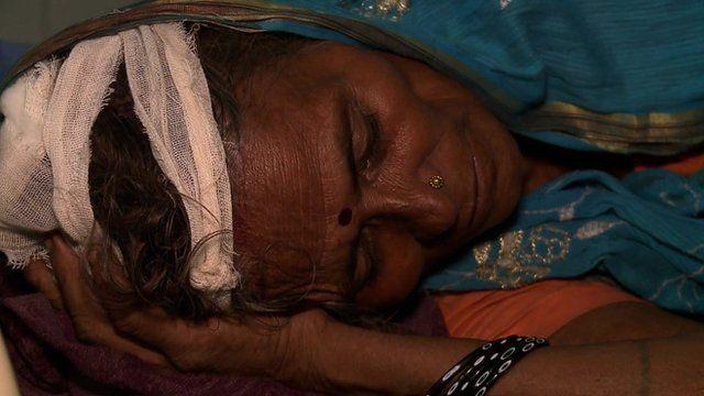 Indian train tragedy survivor