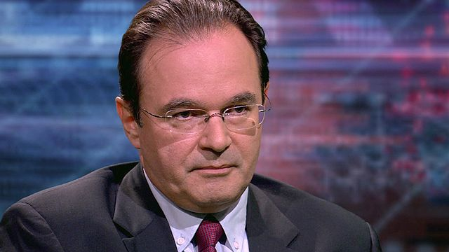Greece's former finance minister George Papaconstantinou