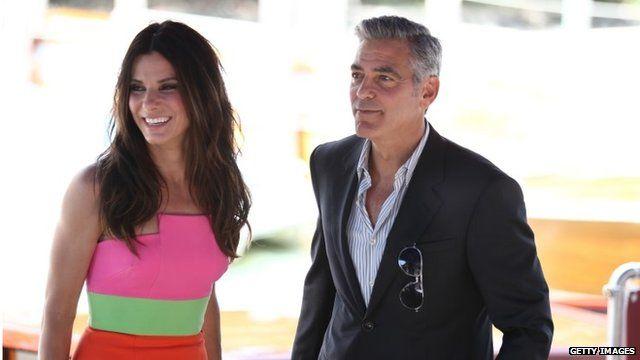 Sandra Bullock, George Clooney