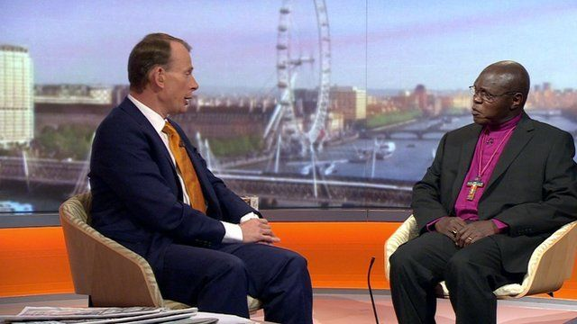 Andrew Marr and John Sentamu