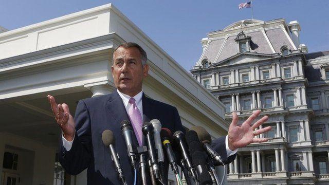 Speaker of the House John Boehner