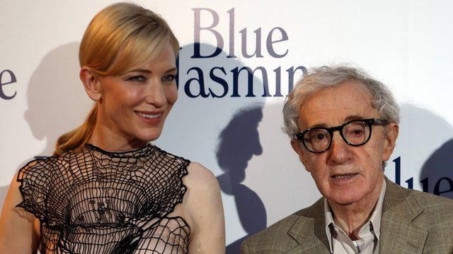 Cate Blanchett and Woody Allen