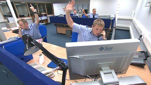 RAF Fylingdales control room