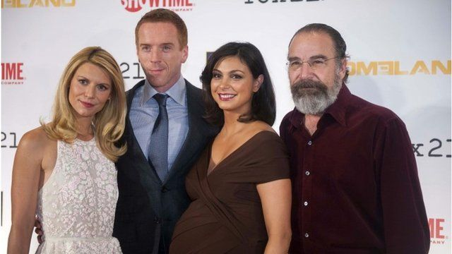 Claire Danes, Damian Lewis, Morena Baccarin and Mandy Patinkin
