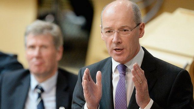 Scotland's Finance Secretary John Swinney