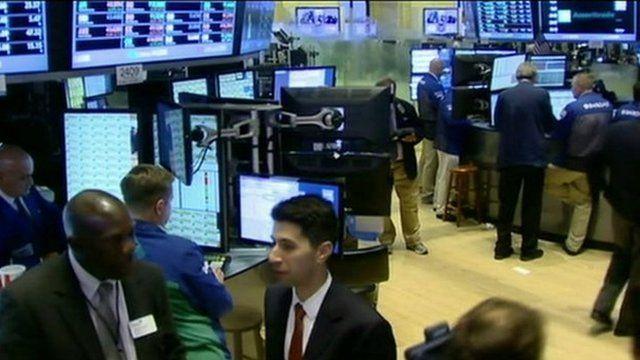 Stock Market floor