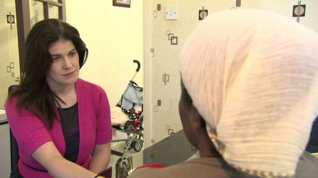 The woman spoke to BBC News NI's Louise Cullen about the attack