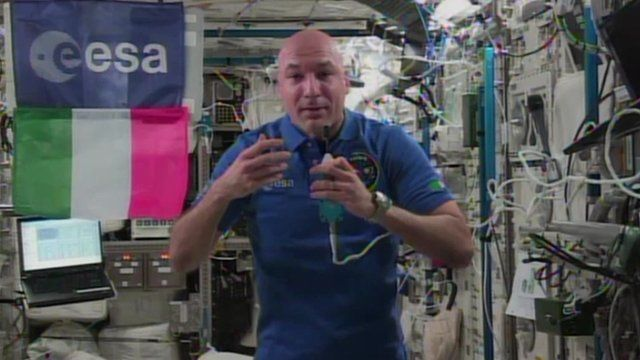 Astronaut Luca Parmitano