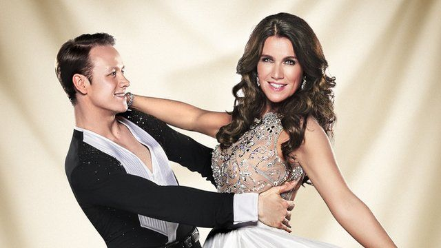 Kevin Clifton and Susanna Reid