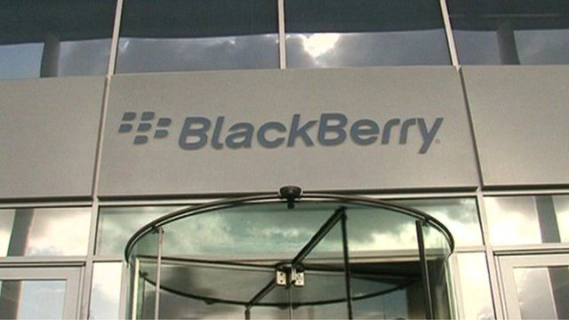 Blackberry office