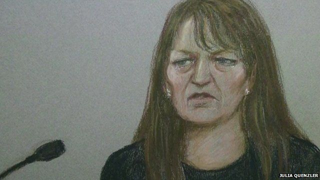 Amanda Hutton denied the manslaughter of 4 year-old Hamzah Khan at Bradford Crown Court